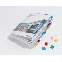 TABFIX samoprzylepne przezroczyste indeksy szer: 25 mm, Etykiety samoprzylepne, Papier i etykiety