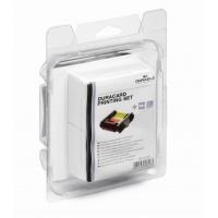 Taśma barwiąca kolorowa i 100 standardowych kart plastikowych DURACARD Printing set, Taśmy specjalne, Drobne akcesoria biurowe