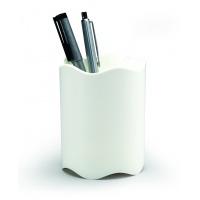 TREND pojemnik na długopisy, biały, Przyborniki na biurko, Drobne akcesoria biurowe