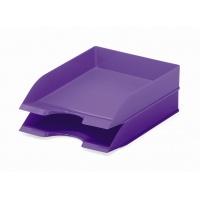 BASIC tacka na dokumenty A4, fioletowa, Pojemniki na dokumenty i czasopisma, Archiwizacja dokumentów