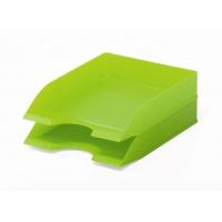 BASIC tacka na dokumenty A4, zielona, Pojemniki na dokumenty i czasopisma, Archiwizacja dokumentów