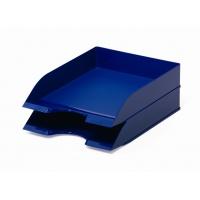 BASIC tacka na dokumenty A4, niebieska, Pojemniki na dokumenty i czasopisma, Archiwizacja dokumentów