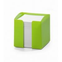 TREND pojemnik z karteczkami, zielony, Take a break, Wyposażenie biura