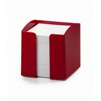 TREND pojemnik z karteczkami, czerwony, Take a break, Wyposażenie biura