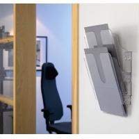 FLEXIPLUS A4 2 pionowe pojemniki na dokumenty, przezroczyste, Pojemniki na dokumenty i czasopisma, Archiwizacja dokumentów
