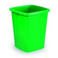DURABIN 90 pojemnik 90 l, zielony, Kosze plastik, Wyposażenie biura