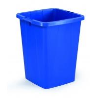 DURABIN 90 pojemnik 90 l, niebieski, Kosze plastik, Wyposażenie biura