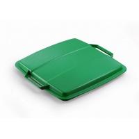DURABIN LID 90 pokrywa do pojemnika 90 l, zielony, Kosze plastik, Wyposażenie biura