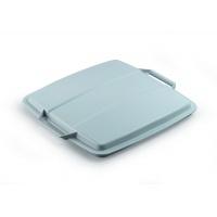 DURABIN LID 90 pokrywa do pojemnika 90 l, szary, Kosze plastik, Wyposażenie biura