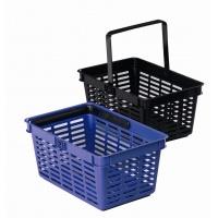 SHOPPING BASKET 19, koszyk na zakupy, niebieski, Take a break, Wyposażenie biura