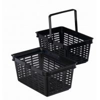 SHOPPING BASKET 19, koszyk na zakupy, czarny, Take a break, Wyposażenie biura