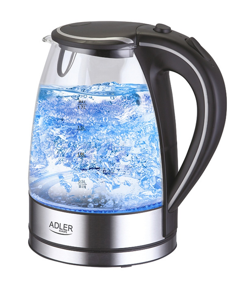 Electric Kettle With Water Level Indicator Adler Ad 1225