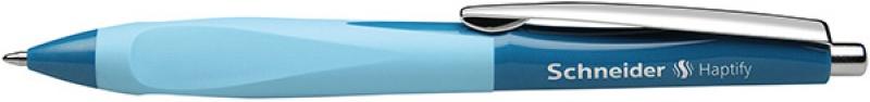 Długopis automatyczny SCHNEIDER Haptify, M, zielony/jasnoniebieski, Długopisy, Artykuły do pisania i korygowania