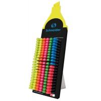 Display zakreślaczy SCHNEIDER Job, 1-5 mm, 150 szt., miks kolorów, Textmarkery, Artykuły do pisania i korygowania