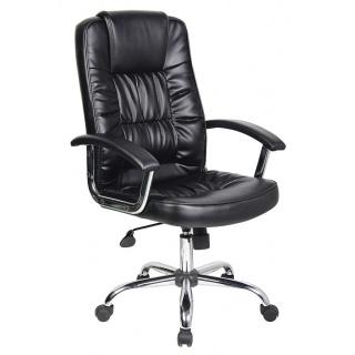 Fotel biurowy OFFICE PRODUCTS Cyprus, czarny, Krzesła i fotele, Wyposażenie biura