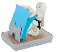 Podajnik do bloczków samoprzylepnych POST-IT® Karate (KD-330), biały, w zestawie 1 bloczek Super Sticky Z-Notes
