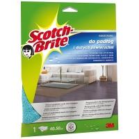 Ścierka z mikrofibry SCOTCH-BRITE™ do podłóg i dużych powierzchni, niebieska, Akcesoria do sprzątania, Artykuły higieniczne i dozowniki