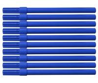Flamaster biurowy OFFICE PRODUCTS, 10szt., niebieski, Flamastry, Artykuły do pisania i korygowania
