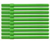Flamaster biurowy OFFICE PRODUCTS, 10szt., zielony, Flamastry, Artykuły do pisania i korygowania