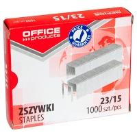 Zszywki OFFICE PRODUCTS, 23/15, 1000szt., Zszywki, Drobne akcesoria biurowe