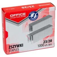 Zszywki OFFICE PRODUCTS, 23/20, 1000szt., Zszywki, Drobne akcesoria biurowe