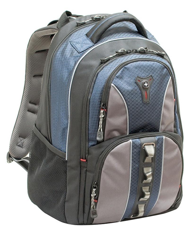 """Plecak WENGER Cobalt, 16"""", 350x460x230mm, niebieski, Torby, teczki i plecaki, Akcesoria komputerowe"""