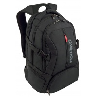 "Deluxe Laptop Backpack WENGER Transit 16""/41cm, black"