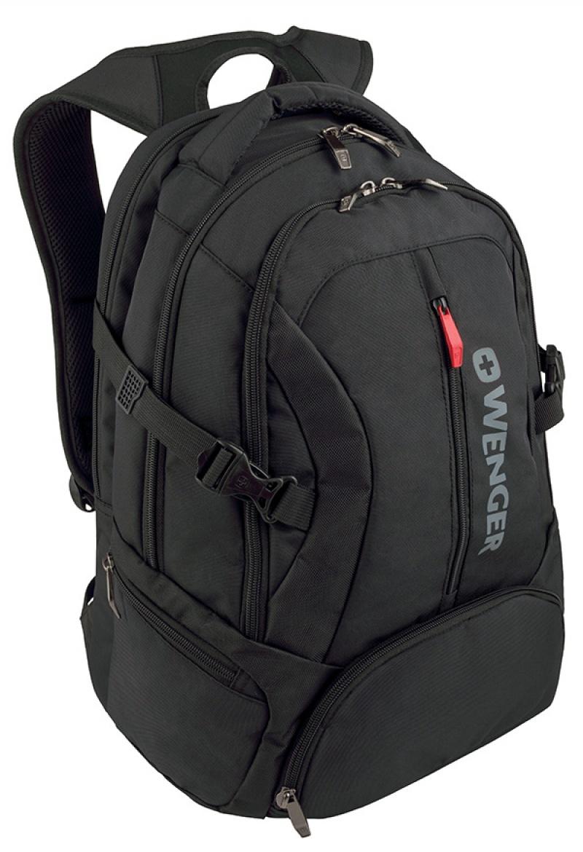 """Plecak WENGER Transit, 16"""", 350x460x270mm, czarny, Torby, teczki i plecaki, Akcesoria komputerowe"""