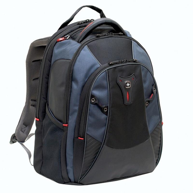 """Plecak WENGER Mythos, 16"""", 370x470x260mm, niebieski, Torby, teczki i plecaki, Akcesoria komputerowe"""