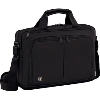 """Torba na laptopa WENGER Source, 14"""", 390x250x80mm, czarna, Torby, teczki i plecaki, Akcesoria komputerowe"""