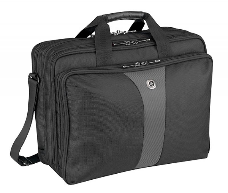 """Torba na laptopa WENGER Legacy, 17"""", 420x320x210mm, czarna/szara, Torby, teczki i plecaki, Akcesoria komputerowe"""