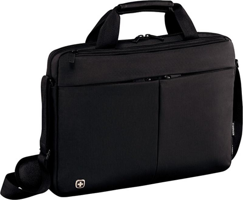 """Torba na laptopa WENGER Slim Format, 14"""", 390x260x80mm, czarna, Torby, teczki i plecaki, Akcesoria komputerowe"""