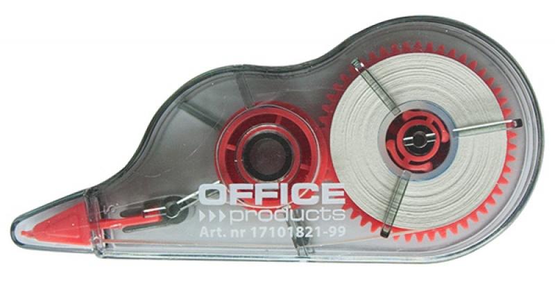 Korektor w taśmie OFFICE PRODUCTS, myszka, 5mmx8m, Korektory, Artykuły do pisania i korygowania