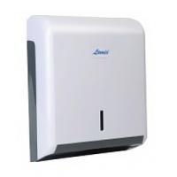 Podajnik do ręczników ZZ i CC, LAMIX, biały, max 600 listków, Ręczniki papierowe i dozowniki, Artykuły higieniczne i dozowniki