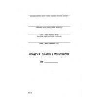 Książka skarg i wniosków Kh 18, A5, TYPOGRAF, 02105, offsetowy, Pozostałe, Druki akcydensowe