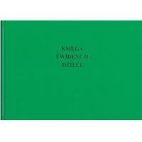 MEN-I/14 księga ewidencji dzieci dla przedszkoli i szkół podstawowych (oprawa introligatorska), A4, TYPOGRAF, 02182, offsetowy, Budowlane, Druki akcydensowe