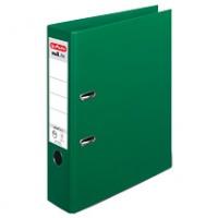 Segregator HERLITZ MaX. File protect plus, PP, A4/80MM, Zielony, Segregatory polipropylenowe, Archiwizacja dokumentów