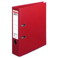Segregator HERLITZ MaX. File protect plus, PP, A4/80MM, Bordowy, Segregatory polipropylenowe, Archiwizacja dokumentów