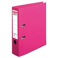 Segregator HERLITZ MaX. File protect plus, PP, A4/80MM, Fuksja, Segregatory polipropylenowe, Archiwizacja dokumentów