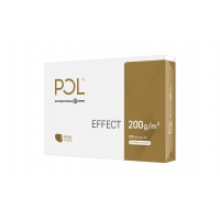 Papier satynowany Pol Effect, A4, klasa A, CIE 168, 250 ark., 200g, Papier do kopiarek, Papier i etykiety