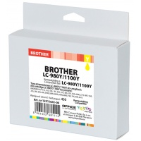 Tusz OP K Brother LC-980Y/1100Y (do DCP-6690C), yellow, Tusze, Materiały eksploatacyjne