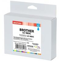 Tusz OP K Brother LC-985C (do DCP-J125), cyan, Tusze, Materiały eksploatacyjne
