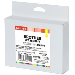 Tusz OP K Brother LC1280XL-Y (do MFC-J5910DW), yellow, Tusze, Materiały eksploatacyjne