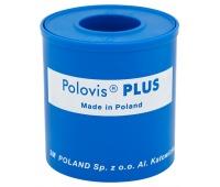 Przylepiec tkaninowy VISCOPLAST Polovis, 50mmx5m, biały, Plastry, apteczki, Artykuły higieniczne i dozowniki