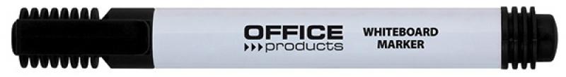 Marker do tablic OFFICE PRODUCTS, okrągły, 1-3mm (linia), czarny, Markery, Artykuły do pisania i korygowania