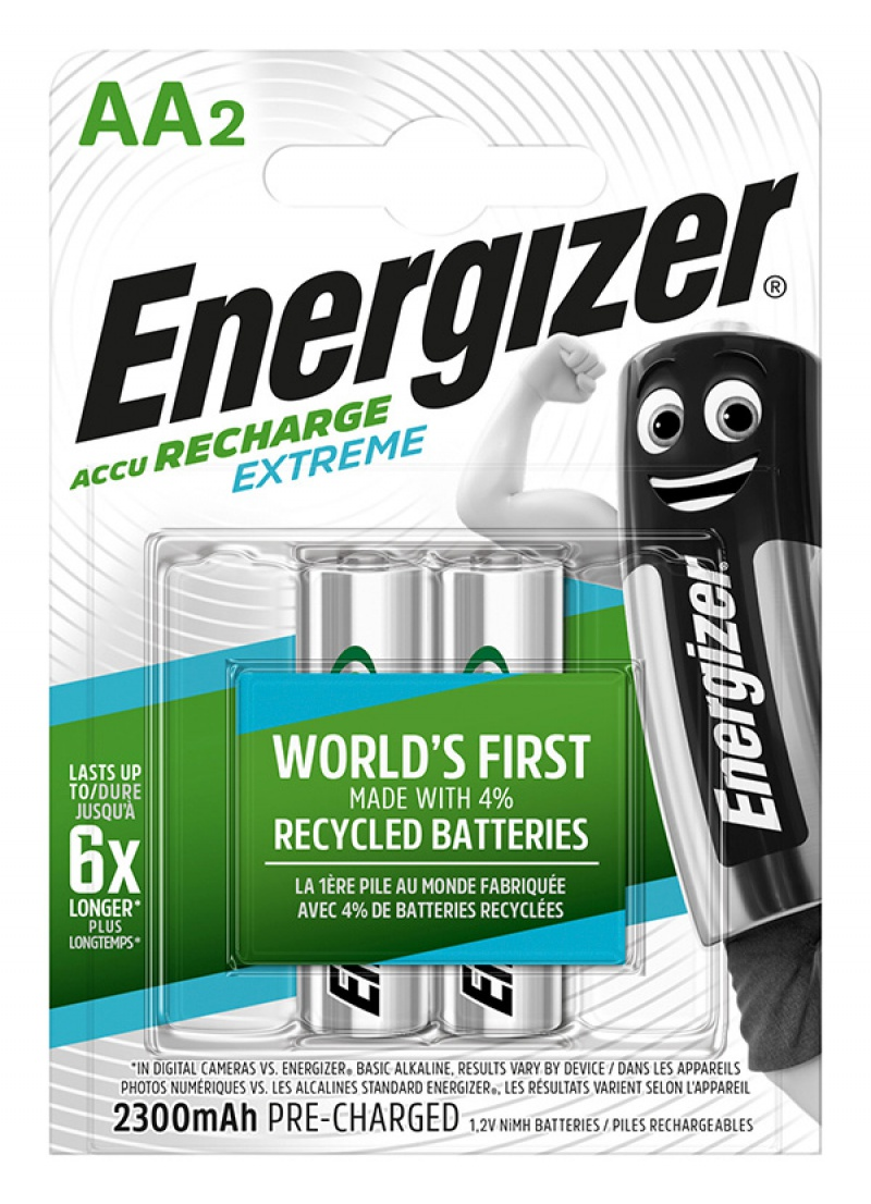 Akumulator ENERGIZER Extreme, AA, HR6, 1,2V, 2300mAh, 2szt.