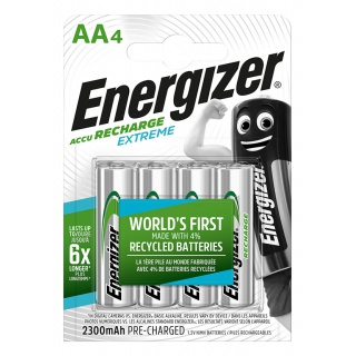 Akumulator ENERGIZER Extreme, AA, HR6, 1,2V, 2300mAh, 4szt.