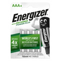 Akumulator ENERGIZER Power Plus, AAA, HR03, 1,2V, 700mAh, 4szt.