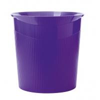 Kosz na śmieci HAN Loop Trend, 13l,  fioletowy, Kosze plastik, Wyposażenie biura