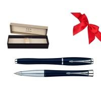 Zestaw Prezentowy Pióro + Długopis PARKER Urban Classic granatowy mat CT w pudełku, Zestawy prezentowe, Artykuły do pisania i korygowania